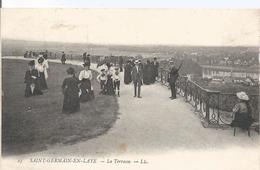 CPA 93  -  SAINT GERMAIN EN LAYE - La Terrasse - St. Germain En Laye