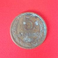5 Kopeken Münze Aus Der Sowjetunion Von 1930 (schön) - Russland
