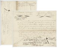 Delémont Porrentruy Armée Du Rhin 1792 - 5e Battaillon Des Volontaires Nationaux - Historical Documents