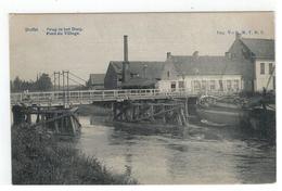 Duffel  Brug In Het Dorp  Pont Du Village Uitg. Vve G.M.V.D.S. - Duffel