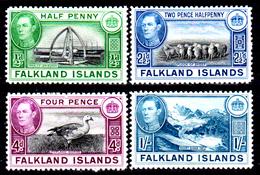 Falkland-0029 - Emissione 1937-41 (sg) NG - Senza Difetti Occulti. - Falkland