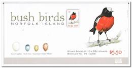 Norfolk Eiland 2009, Postfris MNH, Birds ( Booklet, Carnet ) - Norfolk Eiland