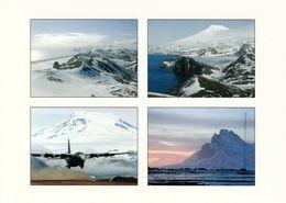 1 AK Island Jan Mayen Zu Norwegen * Norwegian Air Force Flugzeug C-130 – Und Landschaften Der Insel * - Norwegen