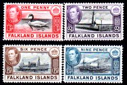 Falkland-0030 - Emissione 1937-41 (sg) NG - Senza Difetti Occulti. - Falkland