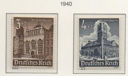 PIA - GER - 1940 : Soccorso D'inverno - Castelli E Monumenti-   (Yv 675-83) - Germania