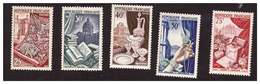 Série N° 970 à 974 Neuve ** - Unused Stamps