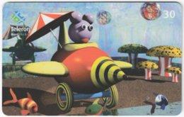 BRASIL I-457 Magnetic Teleron - Cartoon, Comics - Used - Brésil