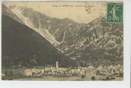 Village Du CASSET Et Son Glacier - Autres Communes