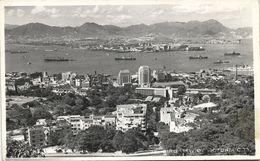China, HONG KONG, Brid View Of Victoria City (1950s) RPPC Postcard - China (Hong Kong)