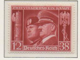PIA - GERMANIA - 1941  : Effigi Di Hitler E Mussolini -  (Yv 687) - Germania