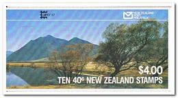 Nieuw Zeeland 1987, Postfris MNH, Birds, Capex Overprint ( 2 Booklets, Carnets ) - Boekjes