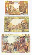 Equatorial African States Congo 5 Note Set 1963 COPY - República Del Congo (Congo Brazzaville)
