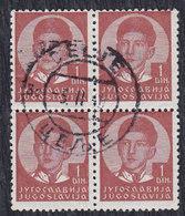 Yugoslavia 1940 King Petar II, Postmark Celje - Gebraucht
