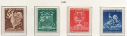 PIA - GER - 1941 : Fiera Di Vienna -   (Yv 692-95) - Germania