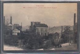 Carte Postale 12. Decazeville  Usines Près L'hotel De Ville Très Beau Plan - Decazeville