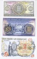 Guernsey 3 Note Set 1969 COPY - Eiland Man/ Anglo-Normandische Eilanden
