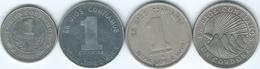Nicaragua - 1 Córdoba - 1972 (KM26) 1983 (KM43) 1985 (KM43a) & 2000 (KM89) - Nicaragua