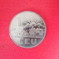 1 Leu Münze Aus Rumänien Von 1963 (schön Bis Sehr Schön) - Rumänien