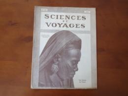 """Revue """" Sciences Et Voyages """" N°417, Août  1927, """" Une Femme Du Tchad """" - 1900 - 1949"""