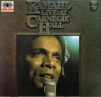 * 2LP *  KAMAHL - LIVE AT CARNEGIE HALL (Holland 1976 NM !!!) - Wereldmuziek