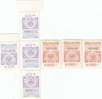 12552-LOTTICINO N°. 7 MARCHE DA BOLLO FISCALI ARGENTINA - Argentina