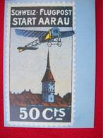 RIPRODUZIONE DI UN POSTER AERO FLUGPOSTMARKE - 1946-....: Modern Era