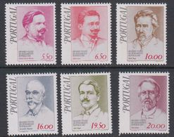 Portugal 1979 Famous Persons 6v ** Mnh (43226) - 1910-... Republiek