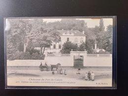 CPA (62) ST LAURENT BLANGY. Château Des Dames D'Avesnes. Animation.      (G Bis 484) - Saint Laurent Blangy