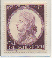 PIA - GERMANIA - 1941  : 150° Anniversario Della Morte Di Mozart -  (Yv 754) - Germania