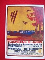 RIPRODUZIONE DI UN POSTER FLUGMEETING LUZERN - 1946-....: Modern Era