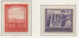 PIA - GER - 1941 : Fiera Di Autunno Di Vienna -   (Yv 728-29) - Germania