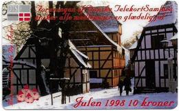 Denmark - DTS Medlemskort Issue - Christmas 1998 Private Remote Mem, Exp.31.12.1999, 10Kr, 400ex - Denmark