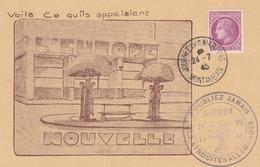 OBLIT. TEMPORAIRE JOURNÉE Des MARTYRS - MONTAUBAN 24/ 7/45 - EUROPE NOUVELLE / ATROCITÉS ALLEMANDES - Postmark Collection (Covers)
