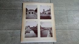 Lot 4 Photos Anciennes Maubeuge Place D'armes Quais Porte De France 5 Photos Vannes Aux Courses Rydée Danse - Plaatsen