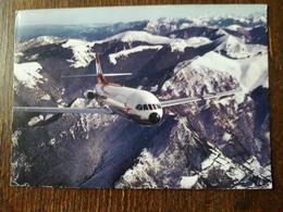 L21/706 Caravelle De La Compagnie Austrian Airlines. Cachet Aéroport De Paris , Orly. ( Voir Au Dos ) - 1946-....: Modern Era