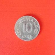 10 Öre Münze Aus Dänemark Von 1979 (sehr Schön Bis Vorzüglich) - Dänemark