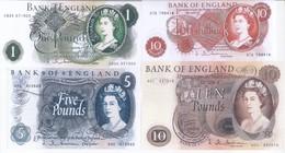 Bank Of England 4 Note Set 1963 COPY - 1952-… : Elizabeth II