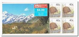 Nieuw Zeeland 1988, Postfris MNH, Birds, Text Handiwrap ( Booklet, Carnet ) - Boekjes