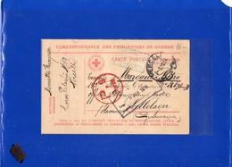 ##(DAN197)-Prigionieri Di Guerra-Prisoners Of War-1918-P.of W. Card From Vercelli-Italy To P.O.W. Cellelager-Hannover - 1900-44 Vittorio Emanuele III