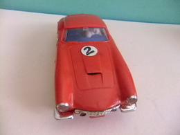 SCALEXTRIC Tri-Ang FERRARI 250 GT BERLINETTA MM / C69 Rojo N 2 Con Caja Repro - Circuitos Automóviles
