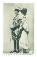 Vintage Italy, Prince Umberto & Princess Of Piedmont. Unused Pc. - Royal Families