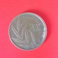 20 Franc Münze Aus Belgien Von 1980 (schön) - 07. 20 Francs