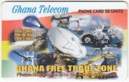 GHANA A-106 Chip Telecom - Communication, Satellite Dish - Used - Ghana