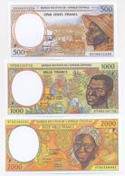 Chad 5 Note Set 1993 COPY - Tsjaad