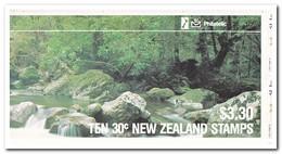Nieuw Zeeland 1986, Postfris MNH, Birds ( Booklet, Carnet ) - Boekjes