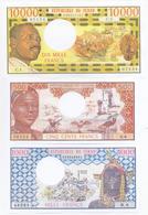 Chad 5 Note Set 1972 COPY - Chad