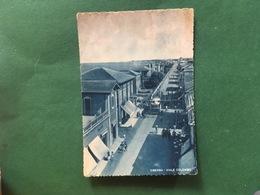 Cartolina Viserba - Viale Colombo - 1950 - Rimini