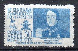 MEXIQUE. PA 165 De 1947. Bataille De Chapultepec. - Militares