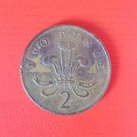 2 Pence Münze Aus Großbritannien Von 1989 (schön) - 1971-…: Dezimalwährungen