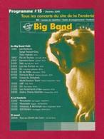 CPM.   Cart'Com.   Musique.  Concert.  Big Band Café.  Hérouville St Clair (14). - Musique Et Musiciens